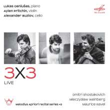 3x3 Live, CD