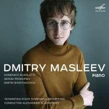 Dmitry Masleev, Klavier, CD