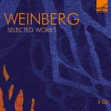 Mieczyslaw Weinberg (1919-1996): Kammermusik, 3 CDs