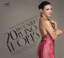 Olga Andryushchenko - 20th Century Piano Works, CD