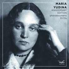 Maria Yudina - Anniversary Edition (Phonodocuments), 10 CDs