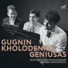 Gugnin / Kholodenko / Geniusas - Dedicated to the 90 Anniversary of Vera Gornostayeva, CD
