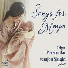 Olga Peretyatko - Songs for Maya, CD