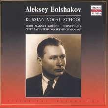 Alexei Bolshakov singt Arien & Lieder, CD
