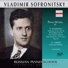 Vladimir Sofronitzky spielt Werke von Schumann & Chopin, CD