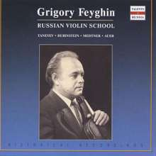 Grigory Feyghin,Violine, CD
