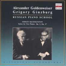 Sergej Rachmaninoff (1873-1943): Suiten für 2 Klaviere opp.5 & 17, CD