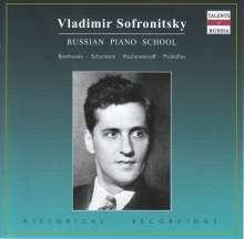 Vladimir Sofronitzky - Russian Piano School, CD