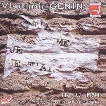 "Vladimir Genin (geb. 1958): Kammermusik ""In C Est"", CD"