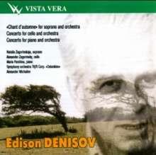 Edison Denisov (1929-1996): Klavierkonzert, CD