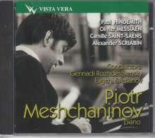 Paul Hindemith (1895-1963): Konzertmusik für Klavier,Blechbläser & Harfen, CD