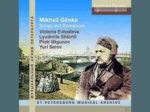 Michael Glinka (1804-1857): Lieder & Romanzen, CD