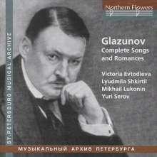 Alexander Glasunow (1865-1936): Lieder & Romanzen, CD