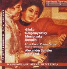 Alexander Sandler & Piotr Laul - Unknown Russian Four Hand Music, CD