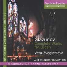 Alexander Glasunow (1865-1936): Orgelwerke, CD