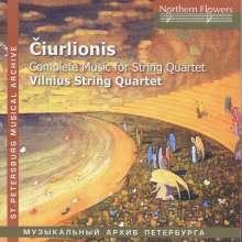 Mikalojus Konstantinas Ciurlionis (1875-1911): Sämtliche Werke für Streichquartett, CD