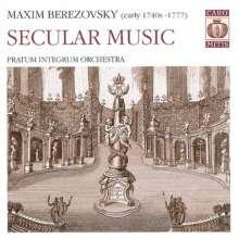 Maxim Beresowsky (1745-1777): Sinfonia in C, Super Audio CD
