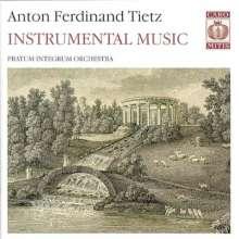 Anton Ferdinand Tietz (1742-1810): Symphonie Nr.4, Super Audio CD