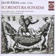 Jacob Klein (1688-1748): Scordatura Sonatas, Super Audio CD