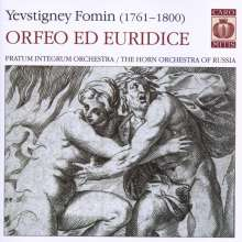 Yevstignei Fomin (1761-1800): Orfeo ed Euridice, Super Audio CD