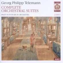 Georg Philipp Telemann (1681-1767): Suiten für Orchester, 2 SACDs