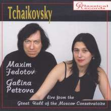 Peter Iljitsch Tschaikowsky (1840-1893): Werke für Violine & Klavier, CD