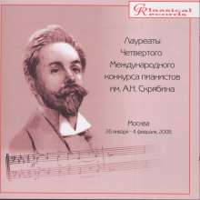 Prize-winners of the 4th International  Alexander Scriabin Competition, CD