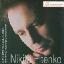 Nikita Fitenko, Klavier, CD