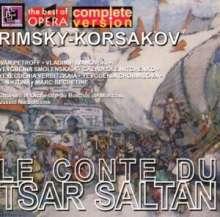 Nikolai Rimsky-Korssakoff (1844-1908): Zar Saltan, 2 CDs