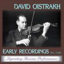 David Oistrach - Early Recordings, CD
