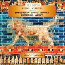Giuseppe Verdi (1813-1901): Nabucco (Ausz.), CD