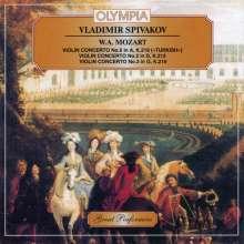 Wolfgang Amadeus Mozart (1756-1791): Violinkonzerte Nr.2,3,5, CD