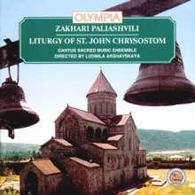 Sacharij Paliashvily (1871-1933): Liturgy of St.John Chrysostom, CD