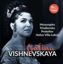 Galina Vishnevskaya singt Lieder, CD