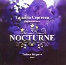 Tatiana Sergeeva - Nocturne, CD