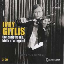 Ivry Gitlis - The early years, birth of a legend, 2 CDs