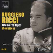 """Ruggiero Ricci - Discovered Tapes """"Showpieces"""", 4 CDs"""