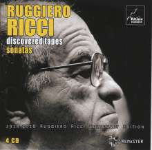 "Ruggiero Ricci - Discovered Tapes ""Sonatas"", 4 CDs"