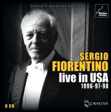 Sergio Fiorentino Live in USA, 9 CDs