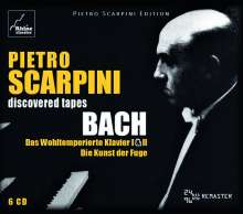 Pietro Scarpini - Discovered Tapes Bach, 6 CDs