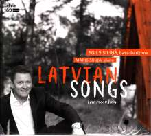 Egils Silins & Maris Skuja - Latvian Songs, CD
