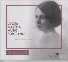 Lucija Garuta (1902-1977): Klavierkonzert, CD