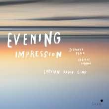 Latvian Radio Choir - Evening Impression, CD