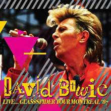 David Bowie (1947-2016): Live...Glass Spider Tour Montreal '87, CD