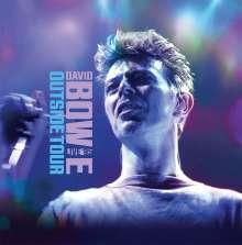 David Bowie (1947-2016): Outside Tour-Live '95 (180g) (Die Cut Picture Vinyl), LP