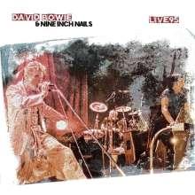 Nine Inch Nails & David Bowie: Live In '95 (180g) (White Vinyl), LP