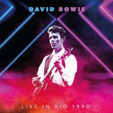 David Bowie (1947-2016): Live In Rio 1990 (180g) (Limited Handnumbered Edition) (Pink Vinyl), 2 LPs