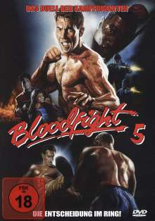 Bloodfight 5, DVD