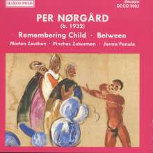 "Per Nörgard (geb. 1932): Violakonzert ""Remembering Child"", CD"