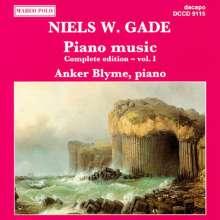 Niels W. Gade (1817-1890): Klavierwerke Vol.1, CD